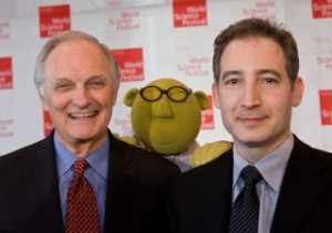 Alan Alda, Bunsen Honeydew and Brian Greene