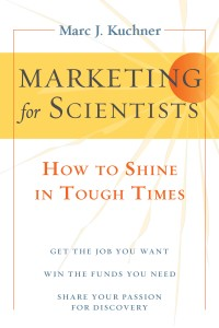 Marketing for Scientists book cover