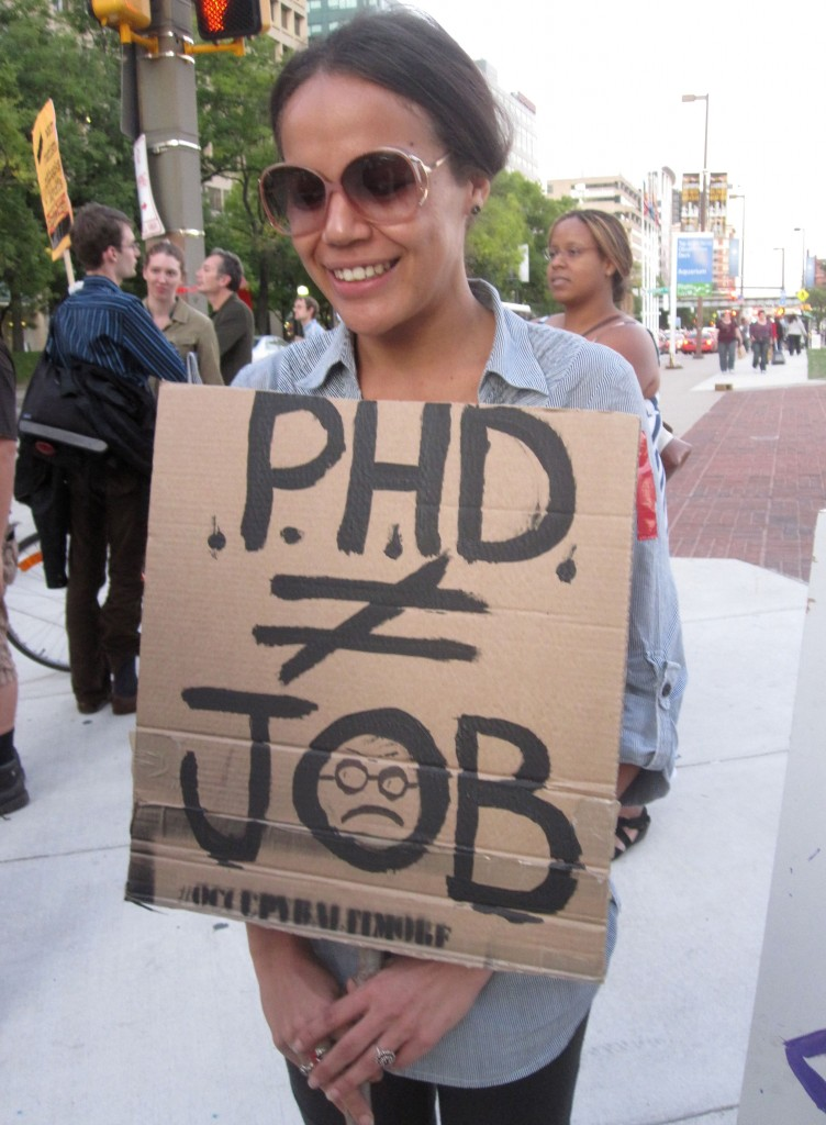 PhD not equal to Job